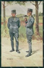 Military Soldiers Royal Dutch Army Van Oorschot 2 cartolina XF9173
