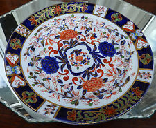 Antique English Derby Pottery : Small Plate - Imari Colours - 5 Available
