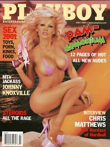 PLAYBOY MAGAZINE PAMELA ANDERSON July 2001 Pam-Demonium  Factory Sealed