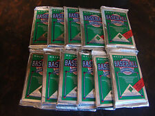 1990 Upper Deck Baseball---Low Series---Packs---Lot Of 11---15 Cards/Pack