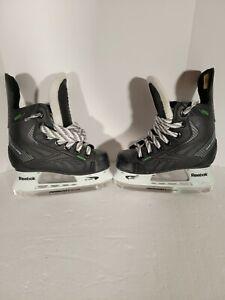 Reebok 22k ribcore Hockey Skates size 10 U.S size 11.5 ice skates youth