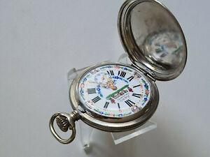 Taschenuhr alt pocket Watch AERO NEUCHATEL
