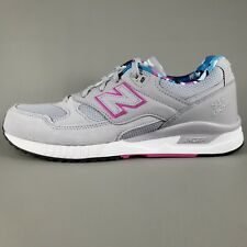 New Balance 530 ENCAP Suede Running Shoes Mens Size 8.5 Gray Pink White