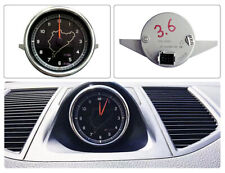 Fit For Porsche Cayenne Macan Dashboard Clock Nurburgring track Design