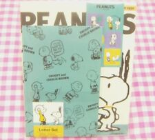 Peanuts Snoopy and Charlie Brown Letter Set / Japan Stationery 2017