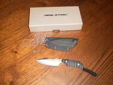 coltello   Real Steel Neck Mini 130A   - neck  knife , cuchillo , messer