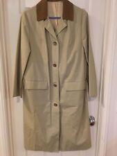 New Ladies Women Montgomery Wards Coat Liner Beige Tan Brown Size Misses NWT 16