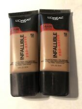 Lot of 2, Loreal Infallible Pro-Matte Foundation, 112 Cocoa
