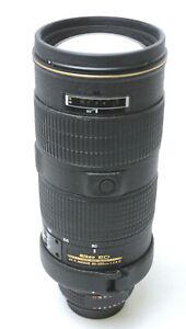 Nikon ED AF-S Nikkor 80-200mm 1:2.8 D  Used Excellent w/ HB-17 Hood,Hard Case