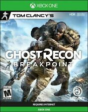 Brand New Tom Clancy's Ghost Recon Breakpoint  Xbox One (for Mature 17+)