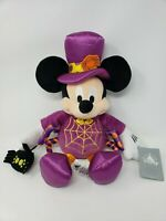 New with Tags Disney Store Halloween Mickey Mouse Spider Plush 2017 FREE SHIP!