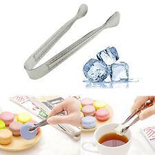 Stainless Steel Cube Sugar Tongs Ice Fruit Bar Buffet Kitchen Serving Tool AU