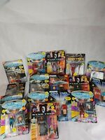 Star Trek Lot Of 16 Action Figures 1993 Playmates