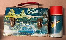 Original 1967 Lost In Space Dome Lunchbox & 1963 Thermos Rare Vintage