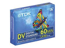 20 PK TDK Dvm60 Mini DV Tape / Cassette - 20pk Aussie Delivery