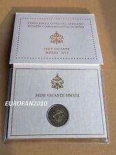 VATICAN, VATIKAN, VATICANO 2013, 2 EURO BU COMMEMORATIVE EN COFFRET OFFICIEL