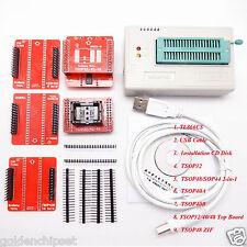 TL866CS USB BIOS EEPROM Programmer 6 SOP TSOP32 TSOP40 TSOP48 Adapters Sockets