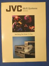 JVC MX-77M MX-55M MX-44 MX-33 & More Brochure Catalog 1992 Original