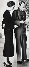 1934/66 Yugoslavia PRINCE PAUL & PRINCESS OLGA Photo By ALFRED EISENSTAEDT 11x14