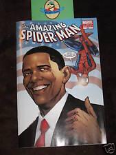 AMAZING SPIDER-MAN #583 BARACK OBAMA 3rd PRINT COMIC