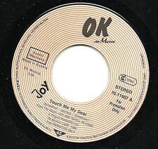 Single / JOY / PROMO / AUSTRIA / RARITÄT / Touch me my Dear / 1986 /