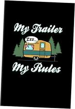 My Trailer My Rules World Camper Amp Oudoor 2020 Planner Weekly Amp Paperback