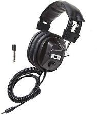 Califone 3068AV Stereo/Mono Headphones, 3.5 mm Stereo Plug, Black