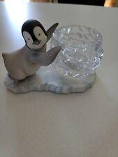 partylite penguin