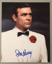 Sean Connery Signed James Bond 007 8x10 Photo Autograph Auto JSA