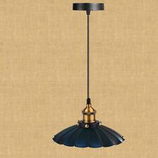 Water Lily Modern Black Pattern Lamp Shade Lights Living Room Pendant Light UK