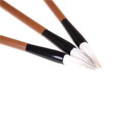 3pcs Chinois Japonais Peinture à l'Eau Encre Peinture Pinceau de Calligraphie