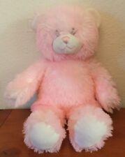 Build A Bear 16 Inch Pink & Cream Teddy Bear Soft / Plush Toy