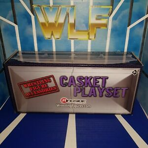 Casket Playset (Silver) - RSC - Accessories for WWE Wrestling Figures