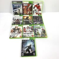 Xbox 360 Lot of 10 Games in cases - Mixed lot -  Fast Shipping!