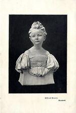 Der englische Bildhauer Alfred Drury *Unschuld * Historischer Kunstdruck 1900