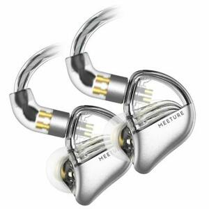 Simgot Mt3 Hi-Res In-Ear Monitor Headphones, Iem Earphones With Detachable Cable