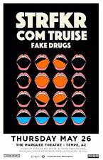 STRFKR / COM TRUISE/FAKE DRUGS 2016 PHOENIX CONCERT TOUR POSTER - Indie Rock/Pop