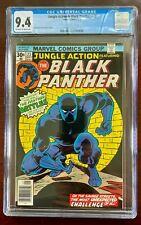 JUNGLE ACTION & BLACK PANTHER #23 CGC 9.4 NM (MARVEL 1976) CLASSIC JOHN BYRNE 🔑