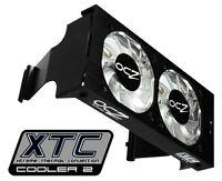 OCZ XTC Memory Cooler Rev. 2 Dual Channel Dual 60mm Blue LED Fans NEW OPEN BOX