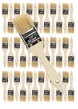 36 Pk- 1.5 inch Chip Paint Brushes for Paint, Stains,Varnishes,Glues,Gesso