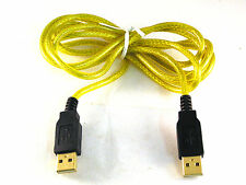 Pro Serie USB 2.0 un Enchufe Tipo a un enchufe tipo plomo Chapado en Oro OM1153E