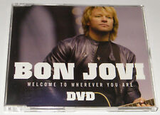 BON JOVI Welcome To Wherever You Are Rare 2006 UK 3-track DVD single CD