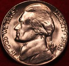 Uncirculated 1948-D Denver Mint Jefferson Nickel (Not Silver)