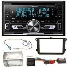 Kenwood DPX-7100DAB DAB+ USB MP3 Einbauset für EOS Polo Caddy Amarok Scirocco