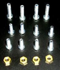 f. Volksempf. VE 301 u.ä.: Schrauben 8pcs M3,5x10 4pcs M3,5x16 4 Muttern M3,5 Ms