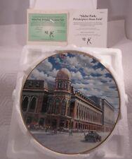"""1994 Delphi The Bradford Exchange Shibe Park Plate No. 4291A 8 1/4"""" Diameter"""