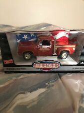 American Hustle 78' Dodge Lil Red Truck. 1/18 Scale