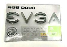 EVGA Nvidia Geforce GT 740 SC SuperClocked 4GB DDR3 Video Graphics Card DVI/HDMI