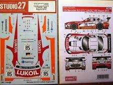 DECAL: 1/24 S271071 2014 LUKOIL MERCEDES SLS GT3 NOGARO