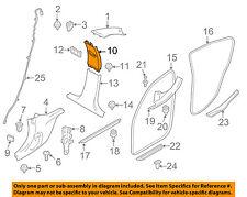BMW OEM 14-16 328i GT xDrive Interior-Upper Center Pillar Trim Right 51438056884